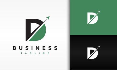 Fototapeta initial D launch fly logo obraz