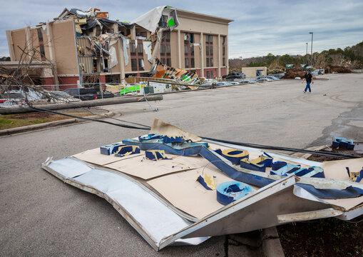 01272021 Fultondale AL Tornado Damage 14
