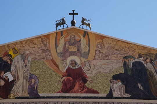 the mount of olives in Jerusalem: the Church of all Nations