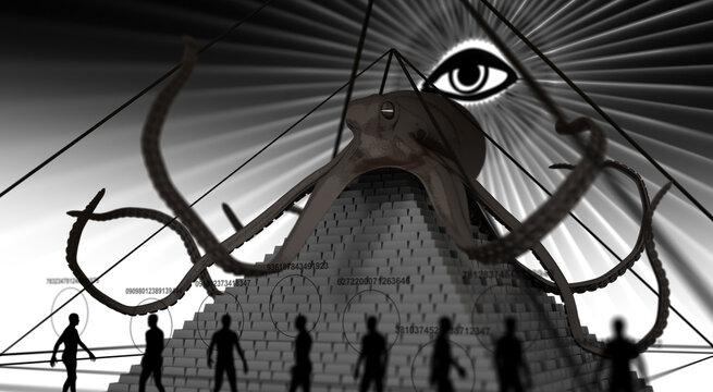 Masonic Power and Pyramid