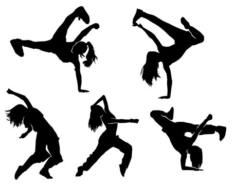 female urban dancer. female dancing. street dance. hiphop dance. breakdance.