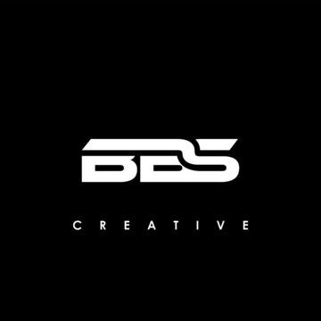 BBS Letter Initial Logo Design Template Vector Illustration