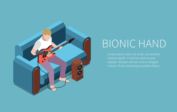 Bionic Hand Guitarist Banner