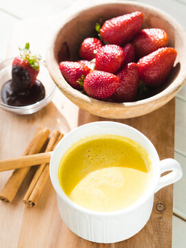 vitamin c, healthy food, anti inflammatory, golden milk, food, dessert, healthy, white, sweet, table, wooden, breakfast, red, fruit, delicious, cup, background, closeup, tea, snack, fresh, plate, drin