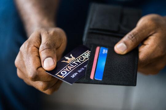 Loyalty Reward Points Program Card
