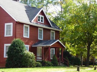 Fototapeta old house in the Midwest obraz