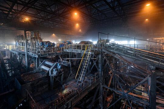 Coal beneficiation plant.