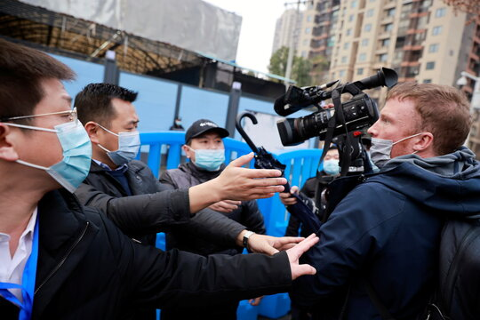 WHO team visits Huanan seafood market in Wuhan