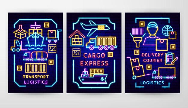 Cargo Neon Flyer Concepts