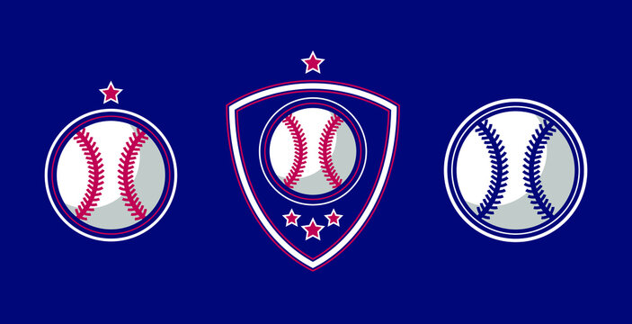 Illustration vector graphic of Baseball logo. Retro Logo, Vintage Logo Design Template Inspiration