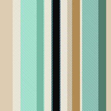 Vector Stripe Pattern earth tone Colors. Seamless fabric texture.