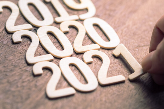 2021 Year by Wood Numbers