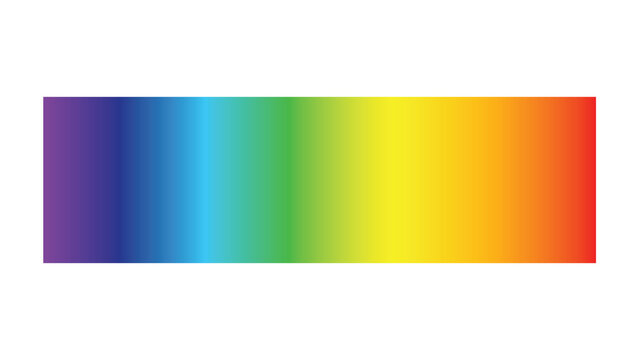 Light spectrum color electromagnetic wavelength radiation prism line, visible spectrum