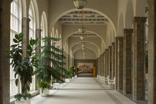 Wandelhalle in Bad Kissingen