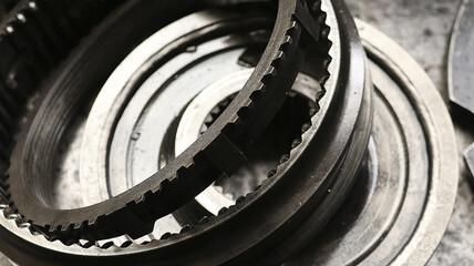 Fototapeta koło zębate