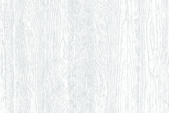 Subtle white texture background of distressed wood grain. Light soft natural wooden overlay pattern. Table top or floor or wooden wall surface. Vector EPS10.