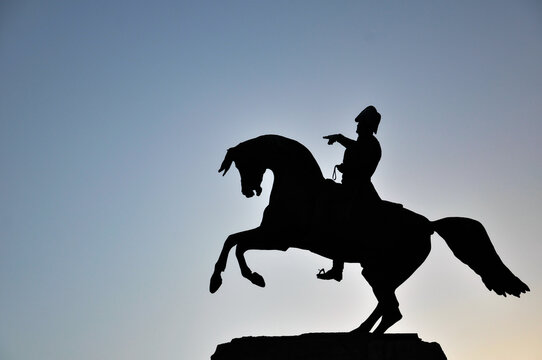general san martin monument in mar del plata, argentina