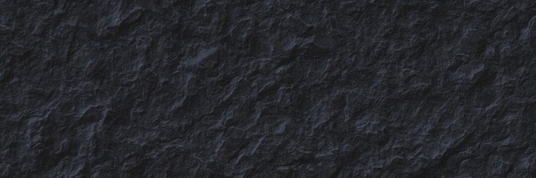 Dark gray rock slate background.Stone gray texture.