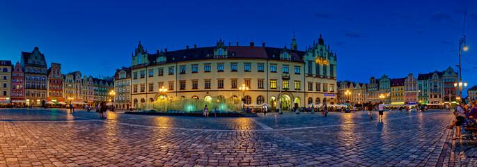 Obraz Wrocław Rynek - fototapety do salonu