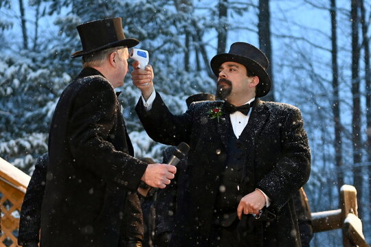 135th Groundhog Day at Gobblers Knob in Punxsutawney, Pennsylvania