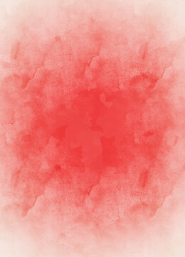 Red watercolor background, abstract pattern background, graphic design