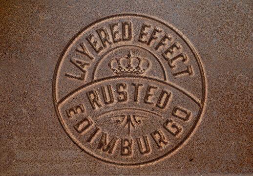 Rusted Effect Mockup
