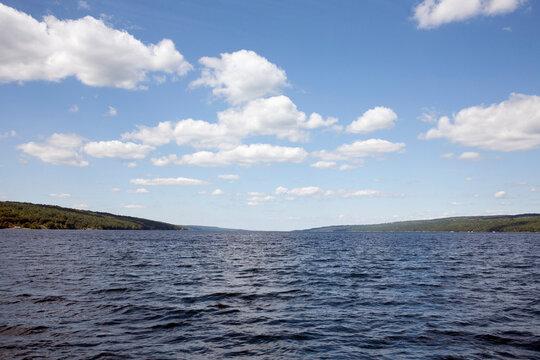 USA, New York State, Scenic view of Seneca Lake