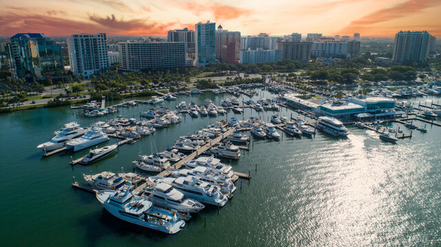 Downtown Sarasota Yacht Club in Florida