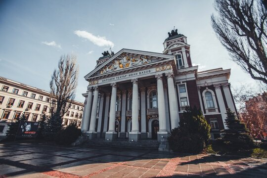 Ivan Vazov National Theater in Sofia, Bulgaria