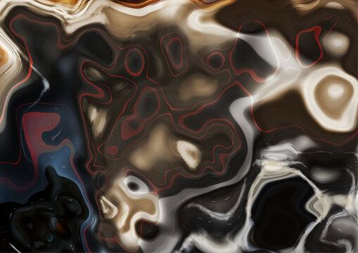 Liquid, abstract marbel texture