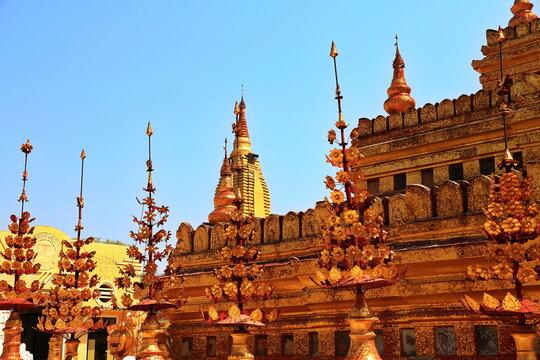 Shwezigon-Pagode in Myanmar