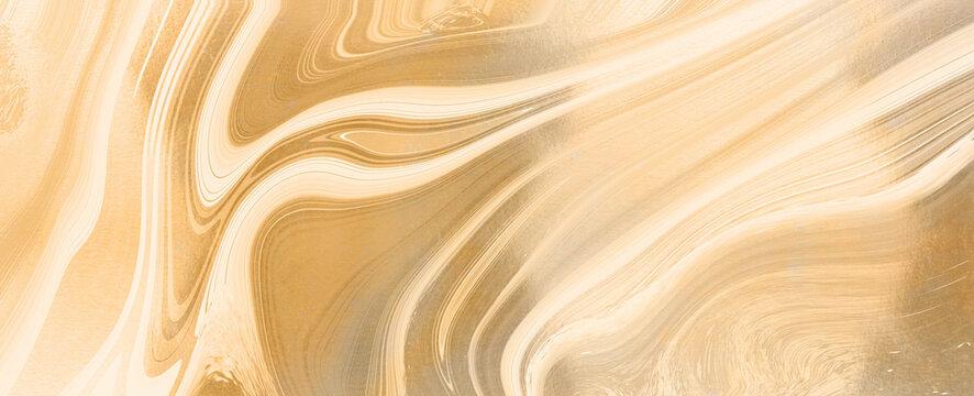 abstract gold liquid luxury marble background,Alcohol ink, Fluid art , Kintsugi , Liquid marble