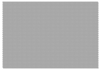 Obraz Gray Mesh-Net Vector On White Background  - fototapety do salonu