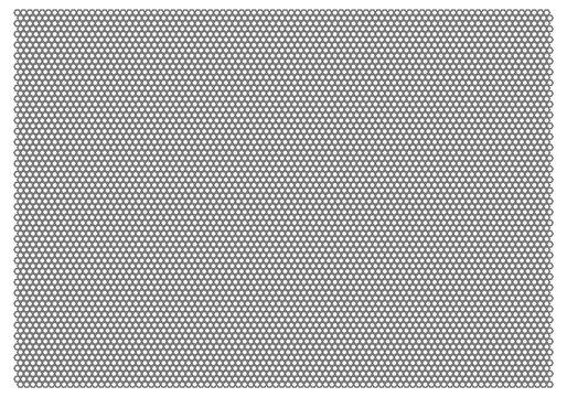 Gray Mesh-Net Vector On White Background