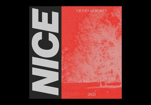 Album Cover Layout