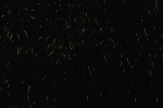 Closeup shot of colorful fireworks in the dark night sky - celebration concept