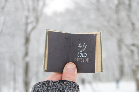 baby its cold outside creative cotcept