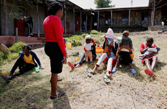 Secondary school accommodates pregnant girls and teenage mothers with their babies in Nyeri