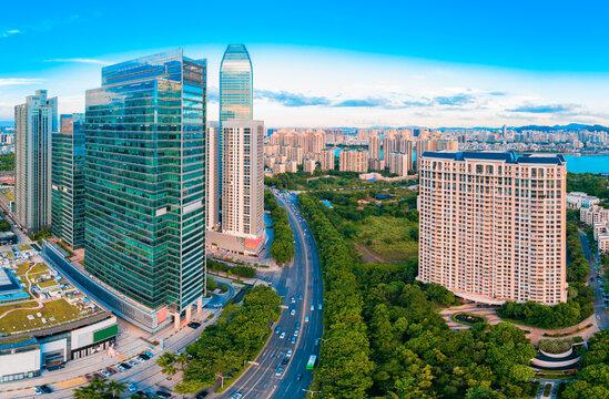 中国广东省惠州市城市风光