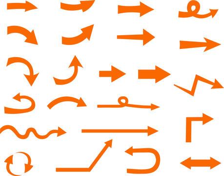 シンプルな矢印