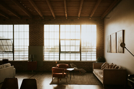 Industrial loft in downtown Los Angeles