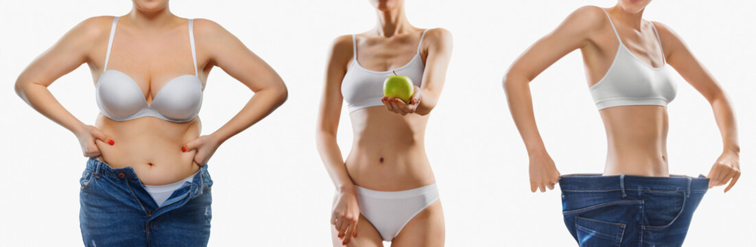 healthy body - Slimming before and after