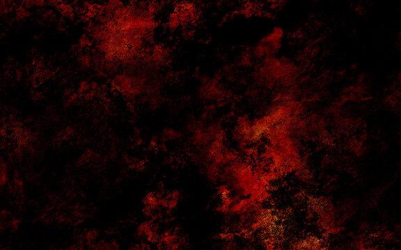 Grunge dark red marble textured background, goth distressed horror paper