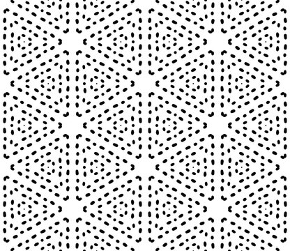 Abstract dotted seamless pattern. Spotted ornamental geometric background. Wrapping paper. Vector illustration.