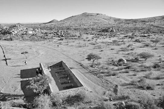 Namibia: Sam Khubis Baster-People Memorial near Rietoog.