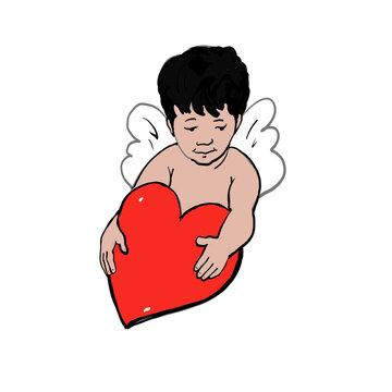 Valentine Cupid Cartoon