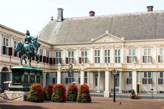 Königspalast Nordeinde in Den Haag.