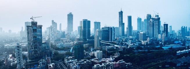 Fototapeta Aerial View Of Cityscape obraz