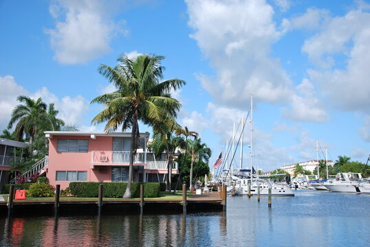 Riverfront in Downtown Fort Lauderdale, Florida