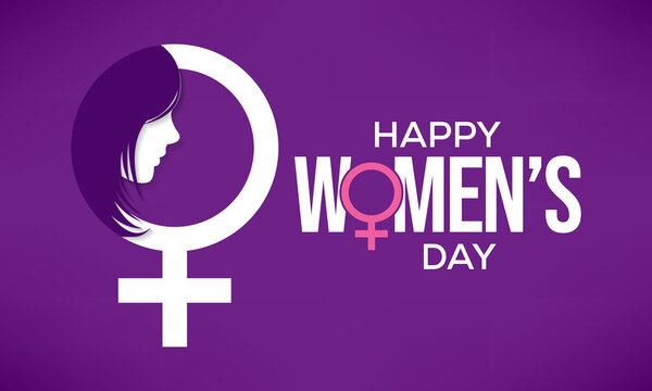 International Women's Day is celebrated  on the 8th of March annually around the world. It is a focal point in the movement for women's rights. Vector illustration design.